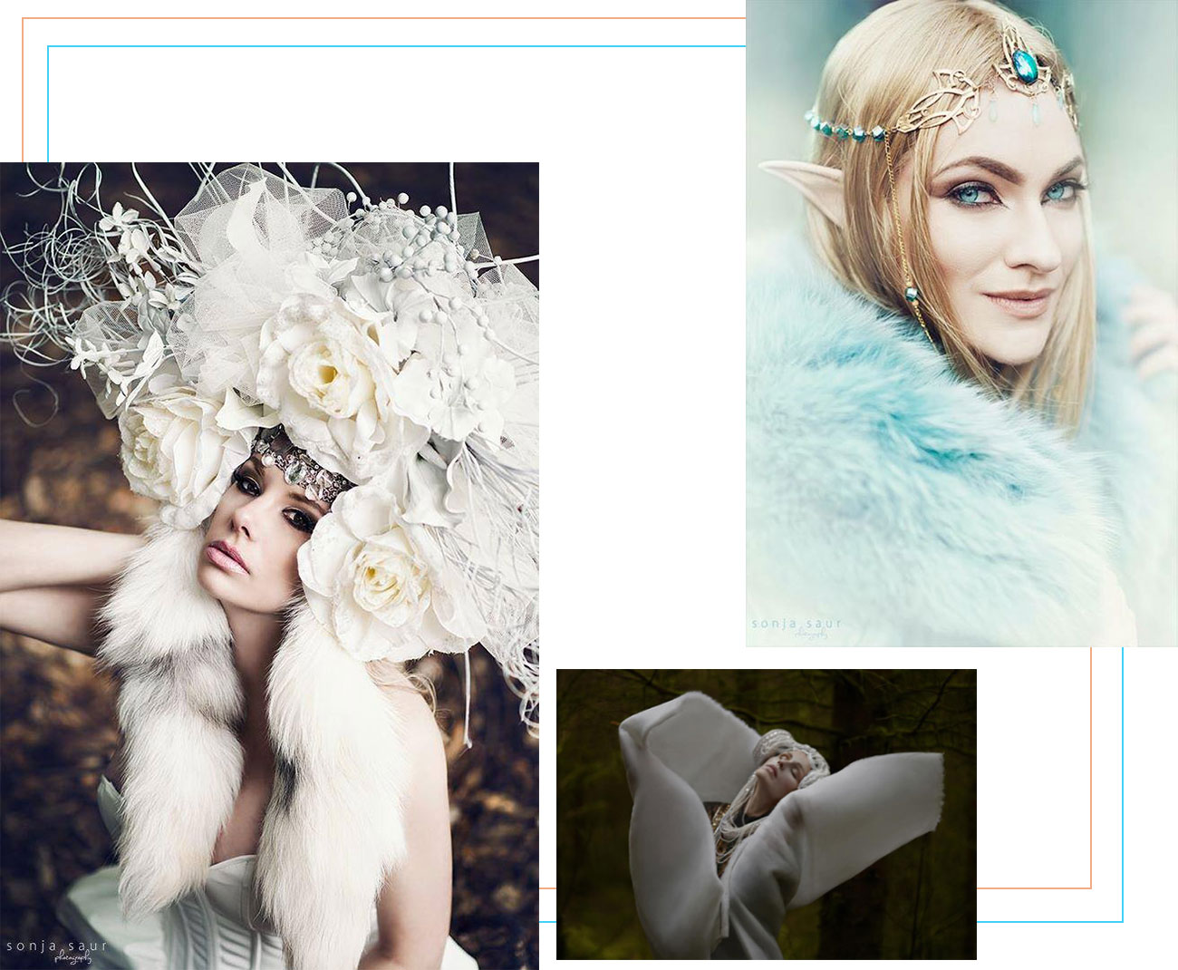 Dare To Wear Fabulous Headpieces By Posh Fairytale Couture?