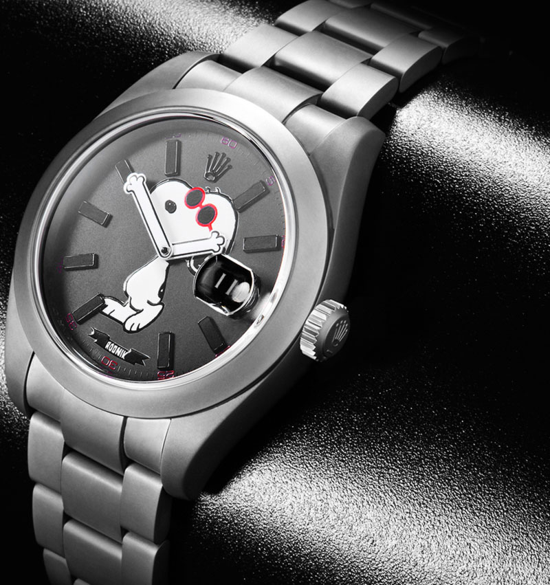 cute fun rolex snoopy watch