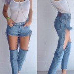 cutoff jeans the wrong way