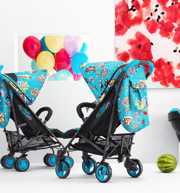 Designer Stroller: Jeremy Scott Cybex Collection