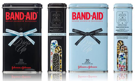 Cynthia Rowley band aids metal tin