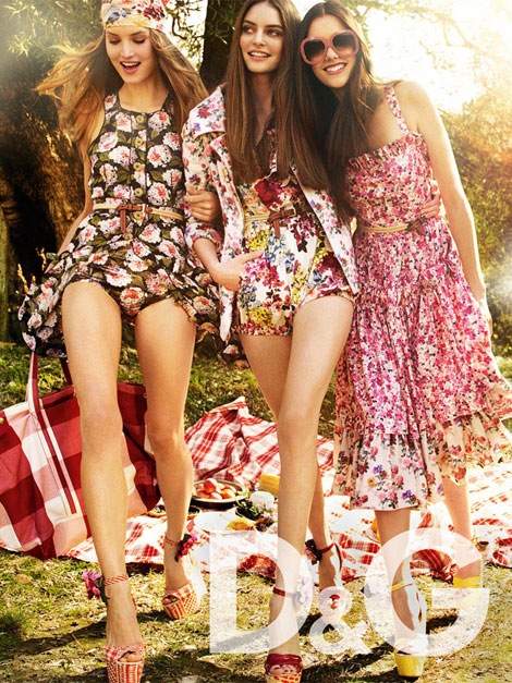 D and G Spring 2011 ad campaign