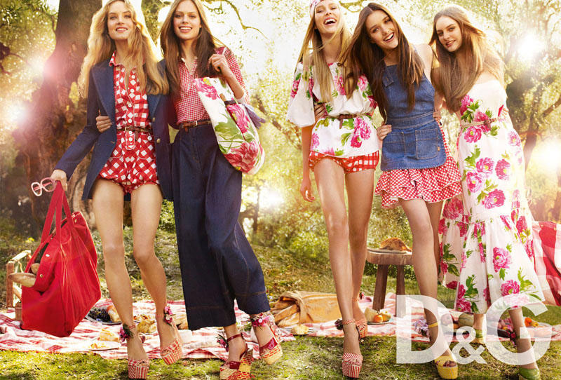 D and G Spring Summer 2011 ad campaign 1