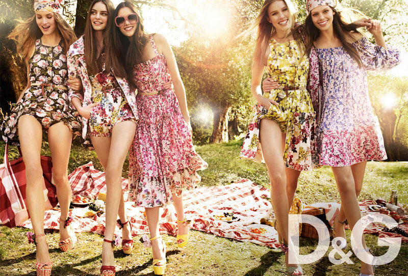 D and G Spring Summer 2011 ad campaign 2