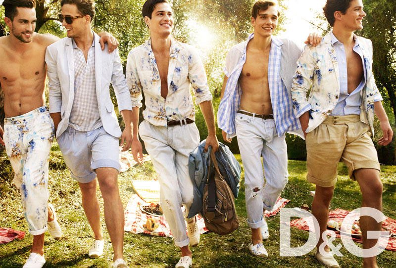 D and G Spring Summer 2011 ad campaign 3