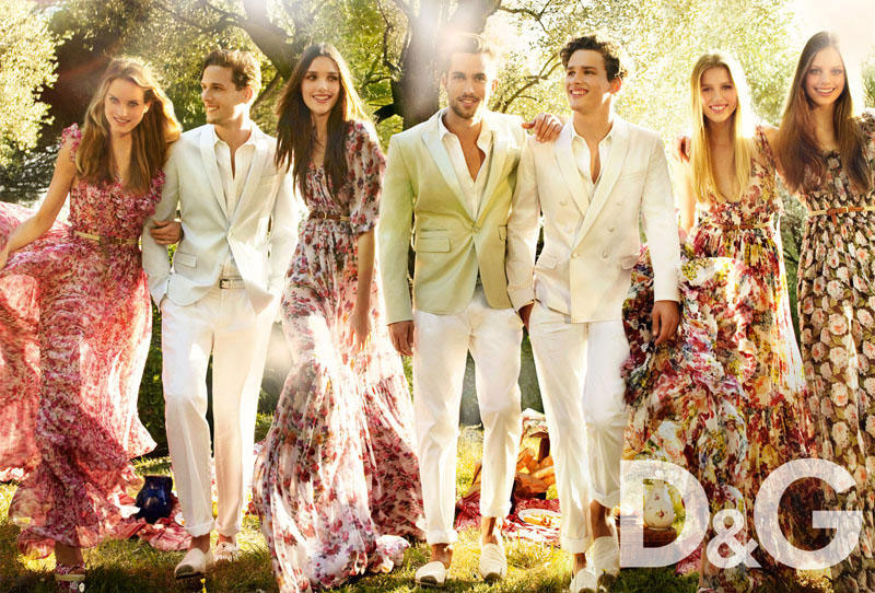 D and G Spring Summer 2011 ad campaign 4
