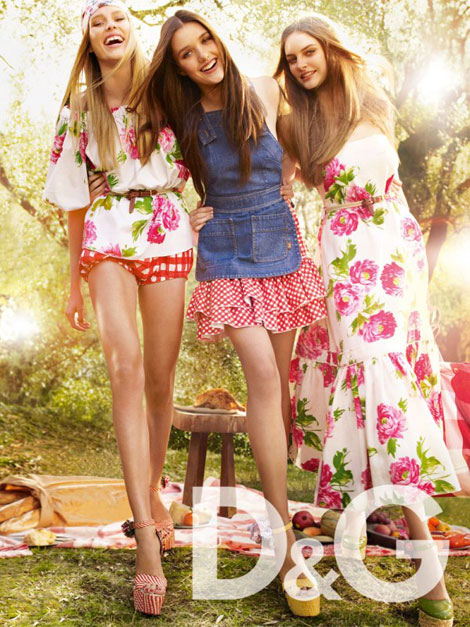 D and G Spring Summer 2011 ad campaign