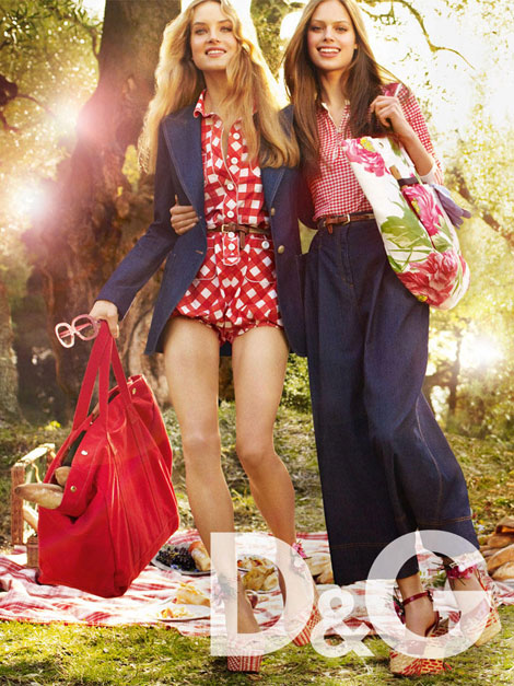 D and G Summer 2011 ad campaign