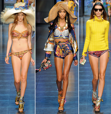 D and G swimwear summer 2012