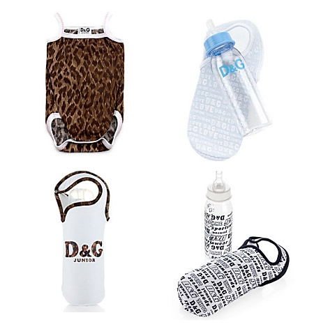 Dolce and Gabbana baby accessories