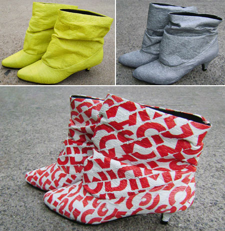 Dacca Boots plastic bags
