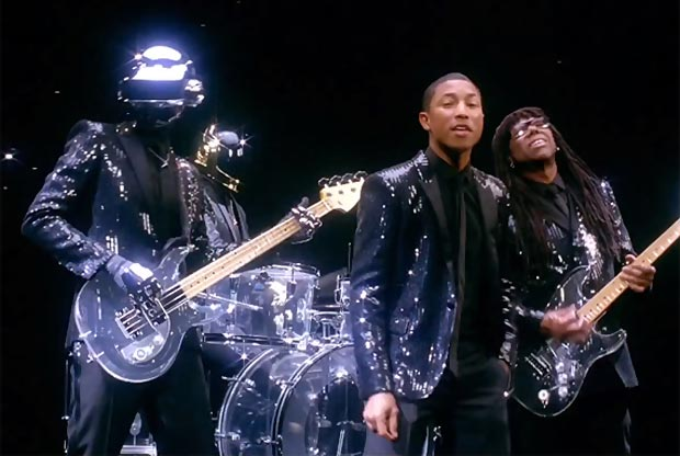 New Daft Punk And Pharrell Get Lucky Collaboration