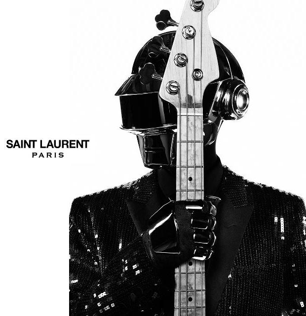 Daft Punk Saint Laurent ad campaign