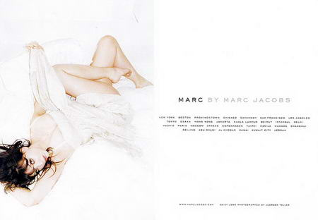 Daisy Lowe Marc by Marc Jacobs Spring Summer 2009 ad campaign small
