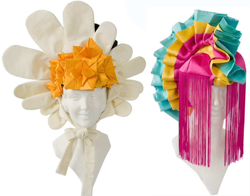 Tour de Force Daisy Pinata headpieces