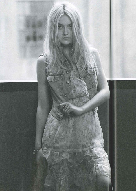 Dakota Fanning Dazed and Confused September 2010