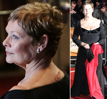 Dame Judi Dench for James Bond Quantum of Solace London premiere