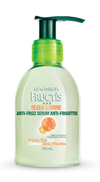 dangerous hair product Garnier Fructis Anti Frizz Serum
