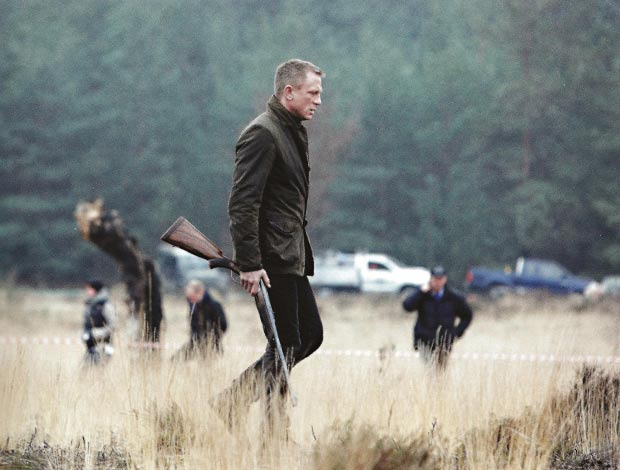 Daniel Craig James Bond Skyfall jacket final scenes