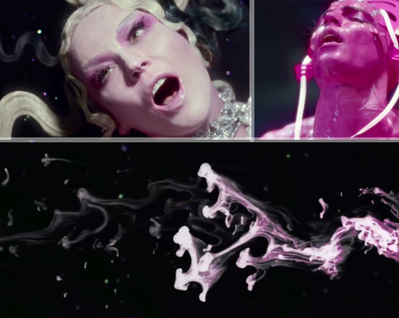 Daphne Guinness ecstatic music video