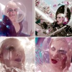 Daphne Guinness Evening in Space music video impressive makeup