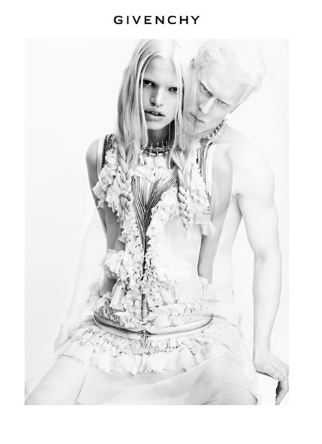 Daphne Stephen Givenchy spring Summer 2011 ad campaign