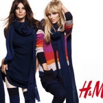 Daria Werbowy Anja Rubik H M warm 2010 collection