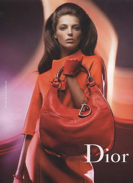 Daria Werbowy Dior Fall Winter 2008 2009 Advertising Campaign