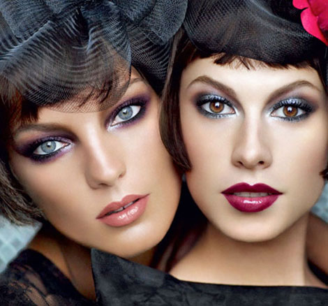 Daria Werbowy, Ellettra Wiedermann For Lancome Fall 2010 Ad Campaign