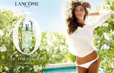 Daria Werbowy&#8217;s Lancome O De L&#8217;Orangerie Perfume Ad Campaign