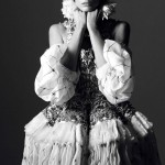 Daria Werbowy Vogue Paris August 2013 by David Sims