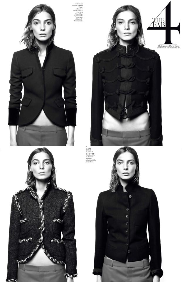 Daria Werbowy Vogue Paris August 2013