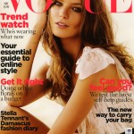 Daria Werbowy Vogue UK May 2009 cover