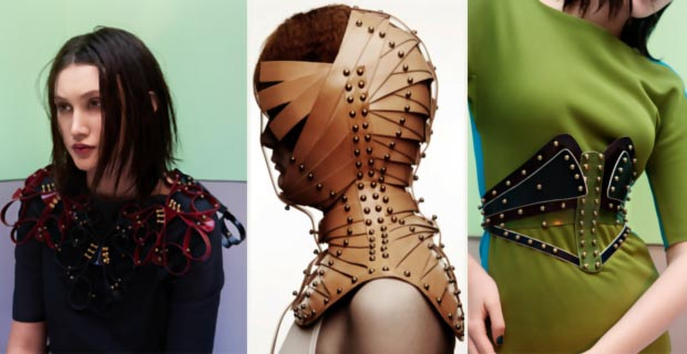 daring leather creations by Una Burke