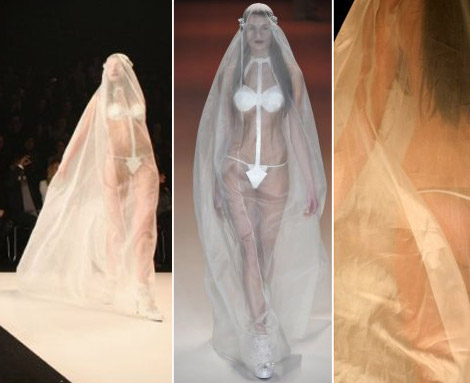 Wedding Dress For Daring Brides With Nothing To Hide