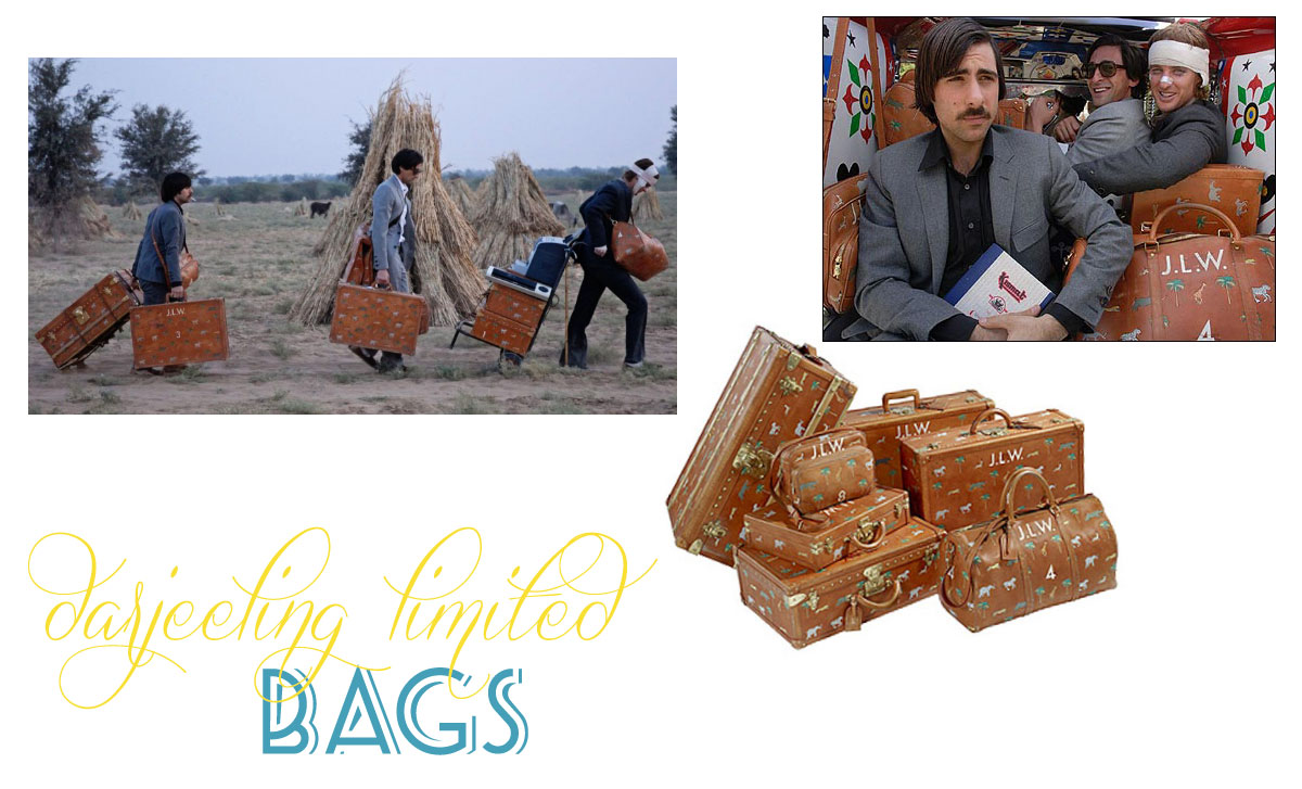 Darjeeling Limited original Vuitton luggage