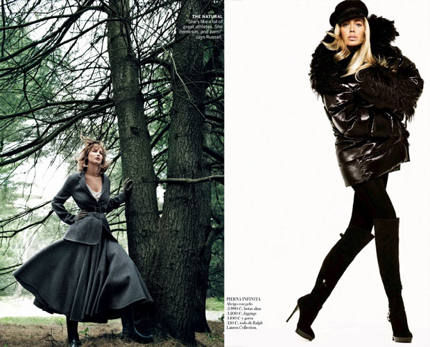 dark clothes Fall 2013 Fashion Vogue September