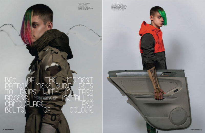 Dazed and Confused January 2010 men 2