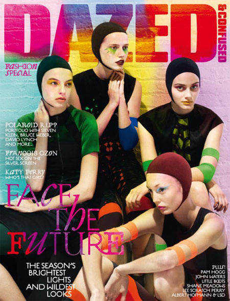 Dazed and Confused September 2008 Fashion special Cover