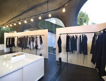 Ann Demeulemeester Seoul Shop - interior