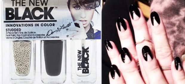 Demi Lovato manicure nail polish The New Black