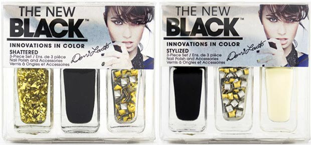Demi Lovato The New Black nail polish sets