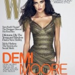Demi Moore W Magazine December 2009 cover