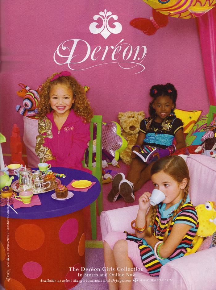 Dereon Junior Line Girls Collection