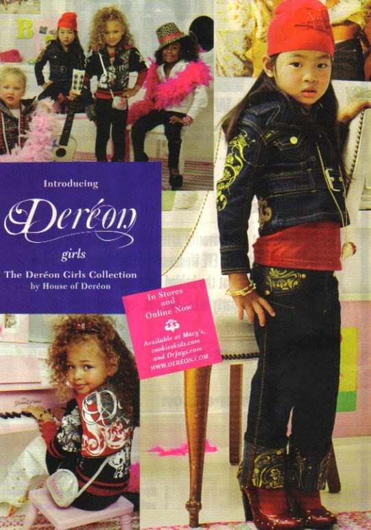 Dereon Junior Line Girls