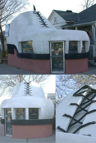 Would you Live in a Shoe House?
