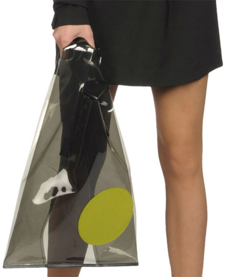 designer shopping bag Jil Sander plastic bag Is This World's Most Expensive Brown Paper Bag: Jil Sander $290 Vasari Bag