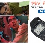 Dev Patel watch Chappie Casio Data Bank