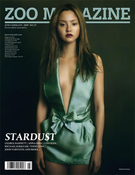 Devon Aoki Zoo Magazine Germany cover