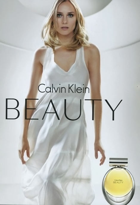 Beauty perfume ad campaign